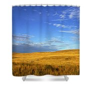 Abandoned House On The Prairies Shower Curtain