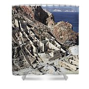 Abandoned Sulfur Processing Facility Shower Curtain