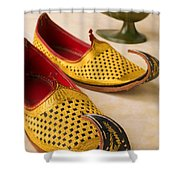 Abarian Shoes Shower Curtain