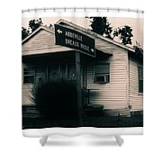 Abbeville Breaux Bridge Shower Curtain