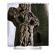 Abbey Of Kells, Kells, County Meath Shower Curtain