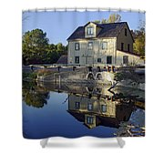 Abbotts Mill Shower Curtain