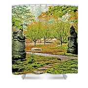 Abby Aldrich Rockefeller Garden Pathfinders Shower Curtain