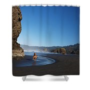 Abby The Great Shower Curtain