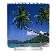 Abduls Beach Shower Curtain