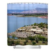Abiquiu Lake New Mexico Shower Curtain
