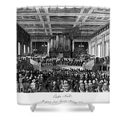 Abolition Convention, 1840 Shower Curtain by Granger