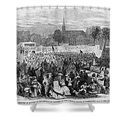 Abolition Of Slavery Shower Curtain