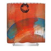 Aboriginal Ocean Shower Curtain
