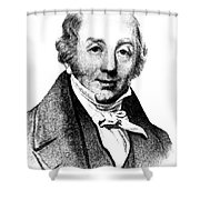 Abraham Colles, Irish Surgeon & Shower Curtain