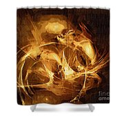 Abs 0053 Shower Curtain