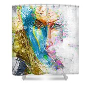 Abs 0063 Shower Curtain