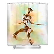 Abs 0099 Shower Curtain