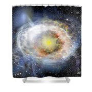 Abs 0143 Shower Curtain