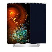 Abs 0255 Shower Curtain