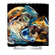 Abs 0258 Shower Curtain