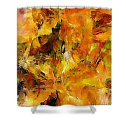Abs 0261 Shower Curtain