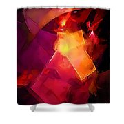 Abs 0264 Shower Curtain