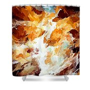 Abs 0265 Shower Curtain