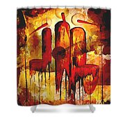 Abs 0274 Shower Curtain