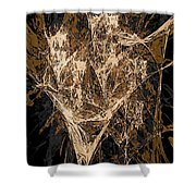 Abs 0287 Shower Curtain