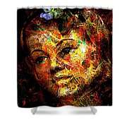 Abs 0363 Shower Curtain
