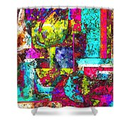 Abs 0367 Shower Curtain