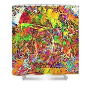 Abs 0385 Shower Curtain