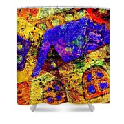 Abs 0435 Shower Curtain