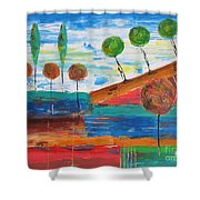 Abs 0455 Shower Curtain