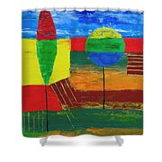 Abs 0456 Shower Curtain