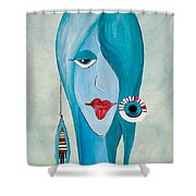 Abs 0457 Shower Curtain
