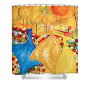 Abs 0459 Shower Curtain