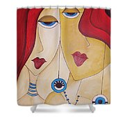 Abs 0460 Shower Curtain