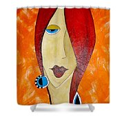 Abs 0461 Shower Curtain