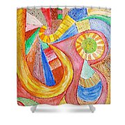 Abs 0466 Shower Curtain