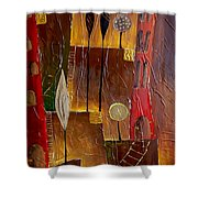 Abs 0478 Shower Curtain
