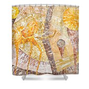 Abs 0482 Shower Curtain