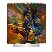 Abs 0496 Shower Curtain