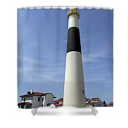 Absecon Lighthouse Atlantic City New Jersey Shower Curtain