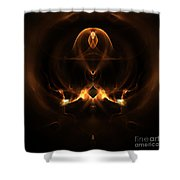 Absgtract Sixty-eight Shower Curtain