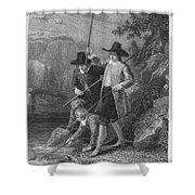 Absolon: Fishermen Shower Curtain