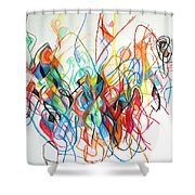 Prayer To Be Separated From Foolishness 7 Shower Curtain