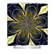 Abstract 004 Shower Curtain