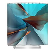 Abstract 011612 Shower Curtain