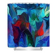 Abstract 021612 Shower Curtain
