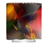 Abstract 021912a Shower Curtain