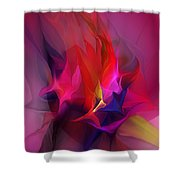 Abstract 031412 Shower Curtain