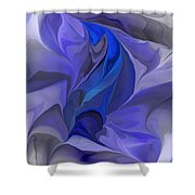 Abstract 032912a Shower Curtain