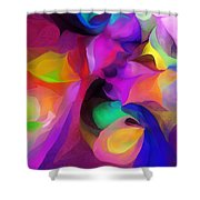 Abstract 041412 Shower Curtain